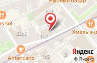 Схема проезда до компании Эксклюзив Дизайн 22 в Москве