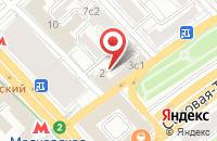 Схема проезда до компании Глассбел Рус в Москве