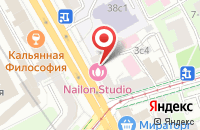 Схема проезда до компании Вега-Сервис в Москве