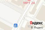 Схема проезда до компании ТанцБАЗА в Москве