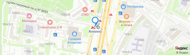 метро Аннино