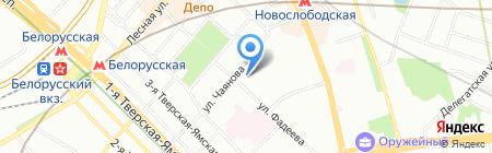 Шарм на карте Москвы