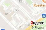 Схема проезда до компании ИНТ РОС в Москве