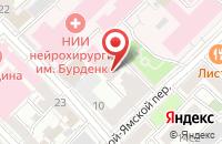 Схема проезда до компании Ника в Москве