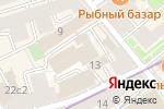 Схема проезда до компании Hatch в Москве