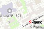 Схема проезда до компании Жилищник района Тверской, ГБУ в Москве