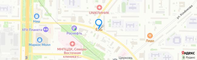 улица Пришвина