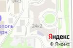 Схема проезда до компании Стопартроз в Москве