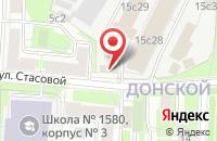Схема проезда до компании Алекс Принт в Москве