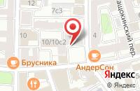 Схема проезда до компании Компания «Корнет» в Москве