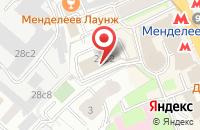 Схема проезда до компании Айа Констракшн в Москве