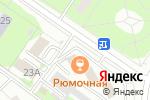 Схема проезда до компании БибуТур в Москве