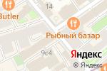 Схема проезда до компании ВТБ Капитал Брокер в Москве