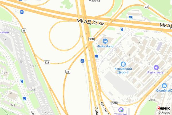 Ремонт телевизоров Варшавское шоссе на яндекс карте