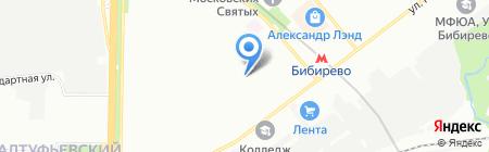 Экстраклимат на карте Москвы
