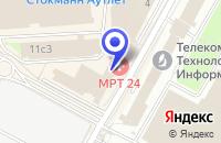 Схема проезда до компании КОМПЬЮТЕРНАЯ ФИРМА LIGHTNET COMPLEX в Москве