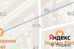 Схема проезда до компании Бамбук и Капуста в Москве