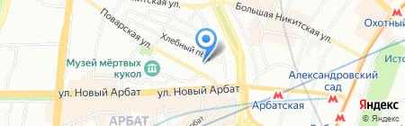 Средняя общеобразовательная школа №91 на карте Москвы