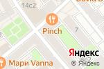 Схема проезда до компании Pinch в Москве