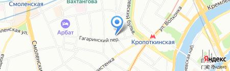 Ригонн на карте Москвы