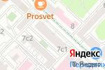 Схема проезда до компании Ve Group в Москве