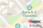 Схема проезда до компании Территориальная избирательная комиссия района Хамовники в Москве