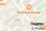 Схема проезда до компании На Трехпрудном в Москве