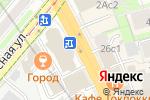 Схема проезда до компании Citizen`s coffee Point в Москве