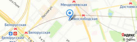 Ирвис Тур на карте Москвы