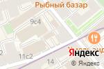 Схема проезда до компании Группа Альянс в Москве