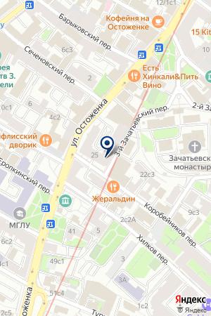 ФИТНЕС-ЦЕНТР DR.LODER на карте Москвы