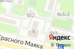 Схема проезда до компании Пенснэ оптик в Москве