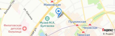 Teabakery на карте Москвы