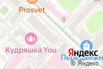 Схема проезда до компании АвангардЪ в Москве