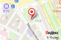 Схема проезда до компании Контракт в Москве