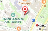 Схема проезда до компании Группинком в Москве