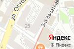 Схема проезда до компании Газпромбанк в Москве