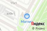 Схема проезда до компании Мир увлечений в Москве
