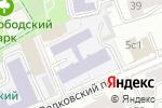 Схема проезда до компании На Вадковском в Москве