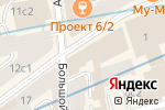 Схема проезда до компании Арбат 13 в Москве