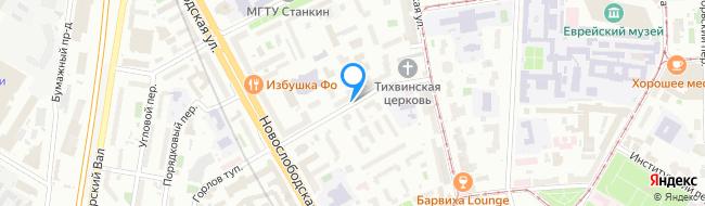 Тихвинский переулок