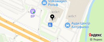 ПеГас-Моторс на карте Москвы