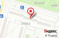 Схема проезда до компании Капельмейстер в Москве