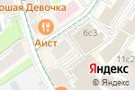 Схема проезда до компании Мемориальная квартира Святослава Рихтера в Москве