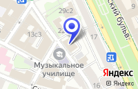 Схема проезда до компании ОБЪЕДИНЕННЫЙ БАНК ПРОМЫШЛЕННЫХ ИНВЕСТИЦИЙ в Москве