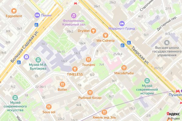 Ремонт телевизоров Благовещенский переулок на яндекс карте