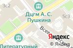 Схема проезда до компании Планета замков в Москве
