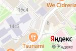 Схема проезда до компании МТ-Бар в Москве