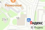 Схема проезда до компании Bembi в Москве