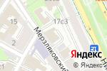 Схема проезда до компании АКБ Объединенный Банк Промышленных Инвестиций в Москве